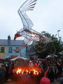 Macnas Parade 2012 Fire Bird — Stock Photo