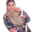 Beautiful mature and confident Muslim woman. — Stock Photo