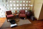 Hermoso spa zona para el descanso y terapia de estar — Foto de Stock