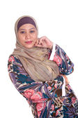 Beautiful mature and confident Muslim woman. — Stock Photo