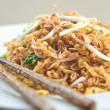 Delicious stir fried oriental noodle with vegetables — Stock Photo #17978277