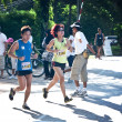 PHUKET, THAILAND - 13 JUNE: Participants completing the 21km half marathon at Laguna, Phuket, Thailand 13 June 2010. - Stock Photo
