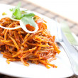 Delicious stir fried noodles Asistyle — Stock Photo #19825219