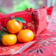 Mini mandarin oranges — Stock Photo