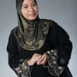 Beautiful and confident Muslim woman in scarf, isolated. — 图库照片 #19829393