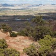 Stock Photo: The Grand Valley from the Colorado National Monument