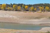Drought Reservoir — Stock Photo
