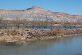 Colorado River at Corn Lake — Stock Photo
