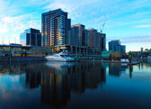 Melbourne Docklands — Stock Photo