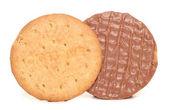 Chocolate biscoitos digestivos — Foto Stock