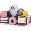 Pile of Liquorice allsorts — Stock Photo #18832115