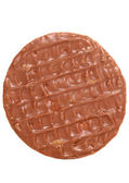 Chocolate digestive biscuit — Stock Photo