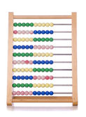 Abacus cut out — Stock Photo