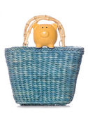 Shopping bag with piggy bank — Stock Photo