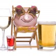 Alcoholic rich and famous — Stock Photo #22360225