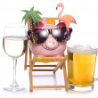 Cheap party holiday — Stock Photo
