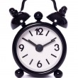 Black alarm clock — Foto de stock #26774581