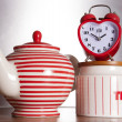 Stockfoto: Love tea time
