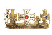 Crown isolated — Stock Photo