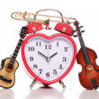 Stock Photo: Love music time