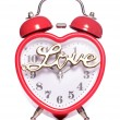 Time for love alarm clock — Stock Photo