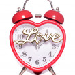 Time for love alarm clock — Stockfoto