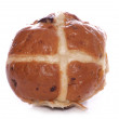 Hot cross bun — Stock Photo