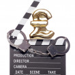 Piracy costing money in the film industry — Stock Photo