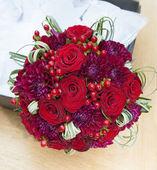 свадебные цветы телеканалов — Стоковое фото