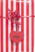 Mum christmas present abstract — Stock Photo