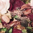 Stock Photo: Potpourri rose petals