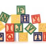 Letter building blocksc — Stock Photo #42909307