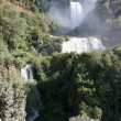 Incredible and very high Marmore falls — Stockfoto