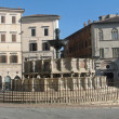 Ancient FontanMaggiore in Perugia — Stock Photo #12567069