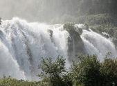 Fabulous Marmore Falls in the province of Terni — Stock Photo
