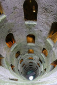 Breathtaking view of well of san patrizio in Orvieto — Stock Photo
