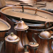 Постер, плакат: Pots and copper antique coffee pots