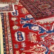 Stock Photo: Collection of valuable carpets of Afghorigin