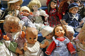 Patches and antique dolls for girls toys — Foto de Stock