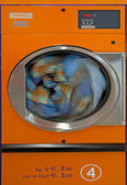 Dryer in a laundromat — Stock Photo
