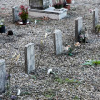 Little graves of children died young — Stock Photo #14663737