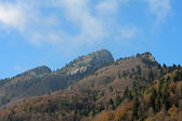 SPITZ mountain in Tonezza del Cimone during a beautiful autumn d — Stock Photo
