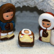 Nativity ethnic with the Holy family of Nazareth - Stock Photo