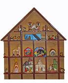 Crib with the nativity scene — Stock Photo