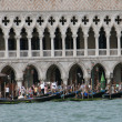 Venice with the sea and palace of Doge — Stock Photo #17403577