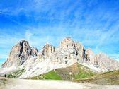 Sasso lungo mountain landscape of the Dolomites — Stock Photo