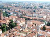 Veduta aerea di tetti — Foto Stock