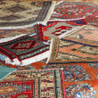 Stock Photo: Textures and background of handmade carpets and rugs