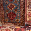 Textures and background of ancient handmade carpets and rugs — Stock Photo #22176919