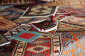 Textures and background of handmade carpets and rugs — Stock Photo